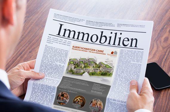 Wohnstätten Wanne-Eickel eG Anzeige Zeitung