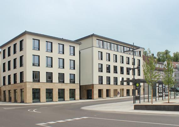 GSW Gesellschaft für Siedlungs- und Wohnungsbau Baden-Württemberg mbH Leopoldplatz