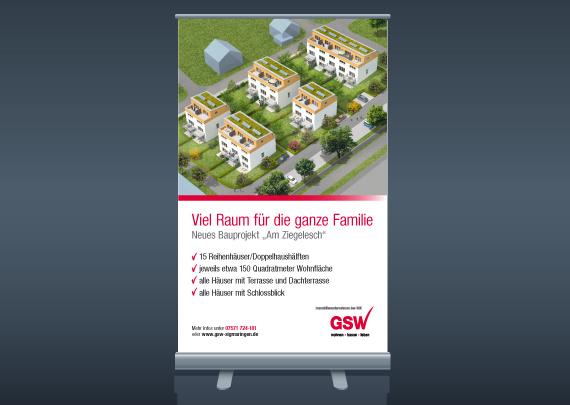 GSW Gesellschaft für Siedlungs- und Wohnungsbau Baden-Württemberg mbH Rollup