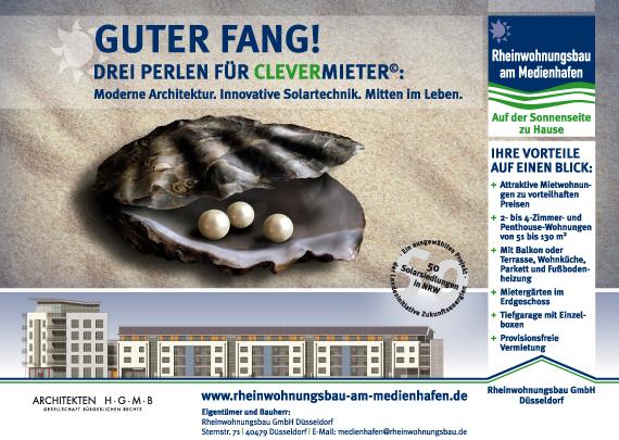 Rheinwohnungsbau GmbH Bauschild