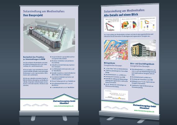 Rheinwohnungsbau GmbH Roll-up
