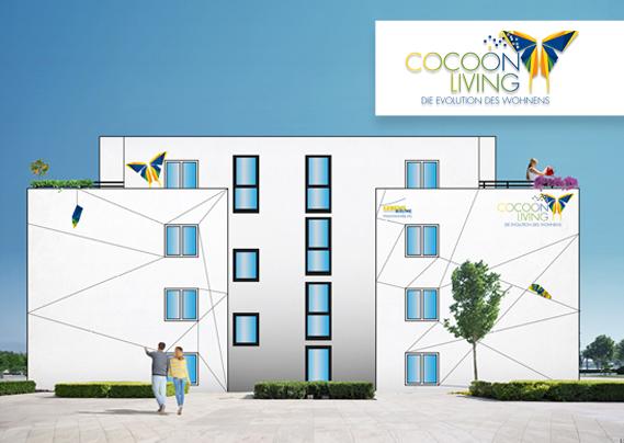 LebensRäume Hoyerswerda eG Cocoon Living Visualisierung