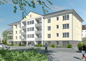 Gemeindliche Siedlungs-Gesellschaft Neuwied mbH Am Schlosspark Visualisierung