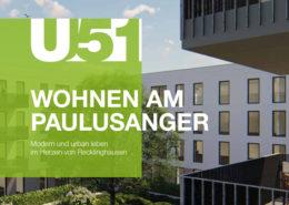 Neubauprojekt U51 der Wohnungsgesellschaft Recklinghausen