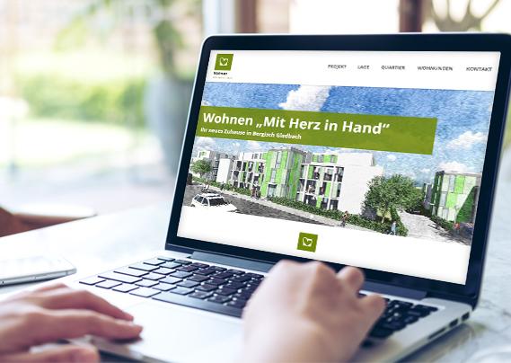 Rheinisch-Bergische Siedlungsgesellschaft mbH Landingpage Handstraße